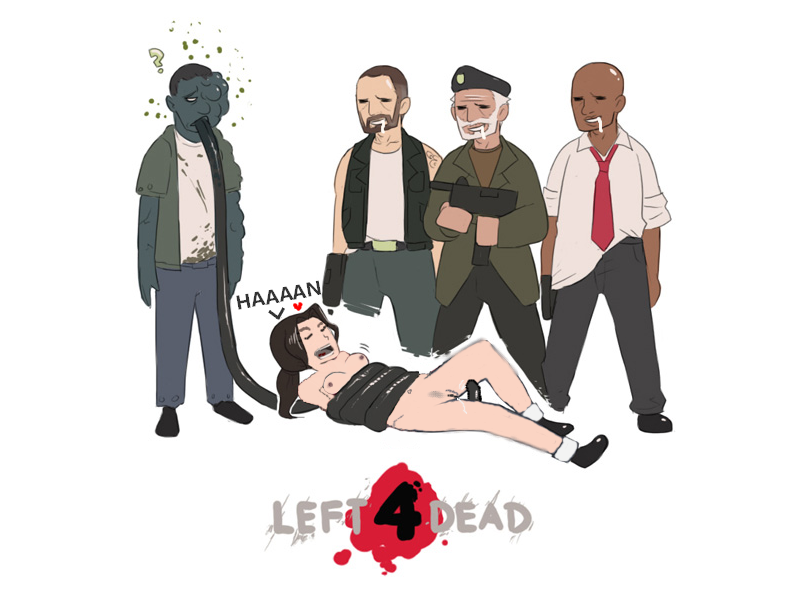 left porn for dead comic The forest game female cannibals