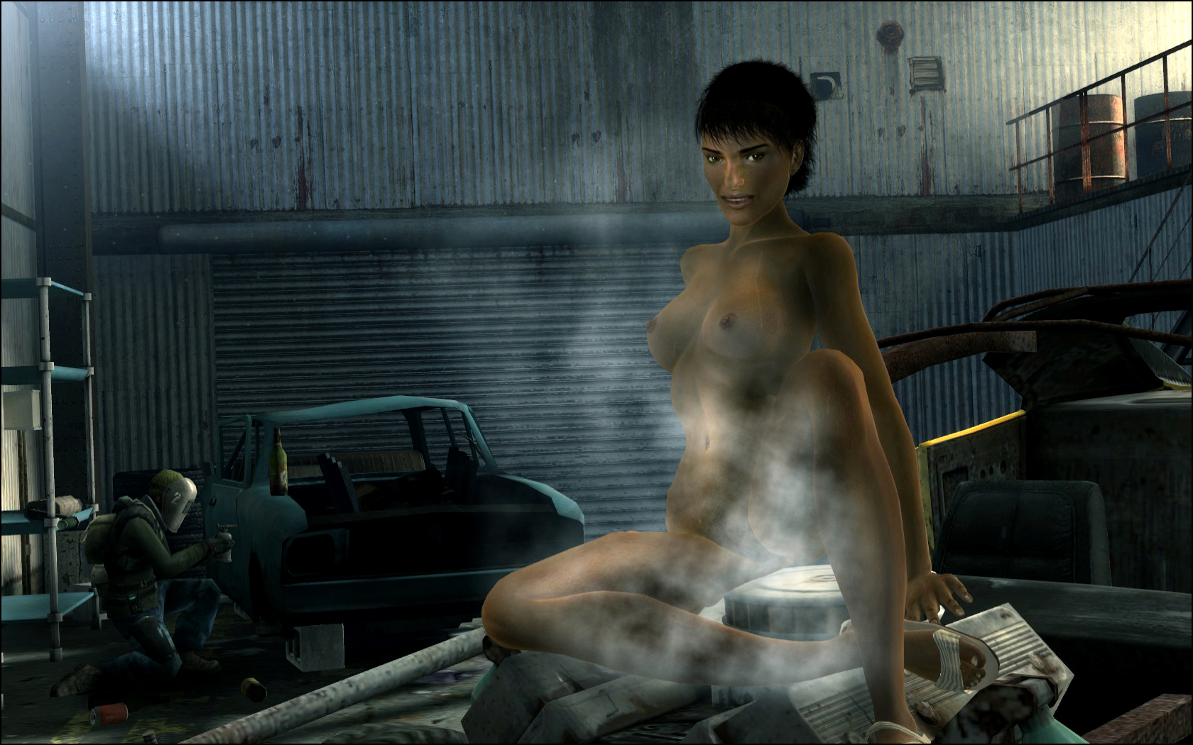 mod female nude glorious fallout 4 Pics of wolves to draw