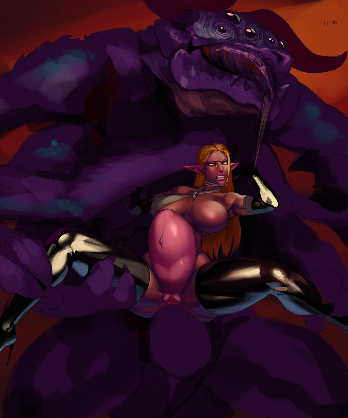 demon queen and mage malori Wander over yonder lord dominator porn