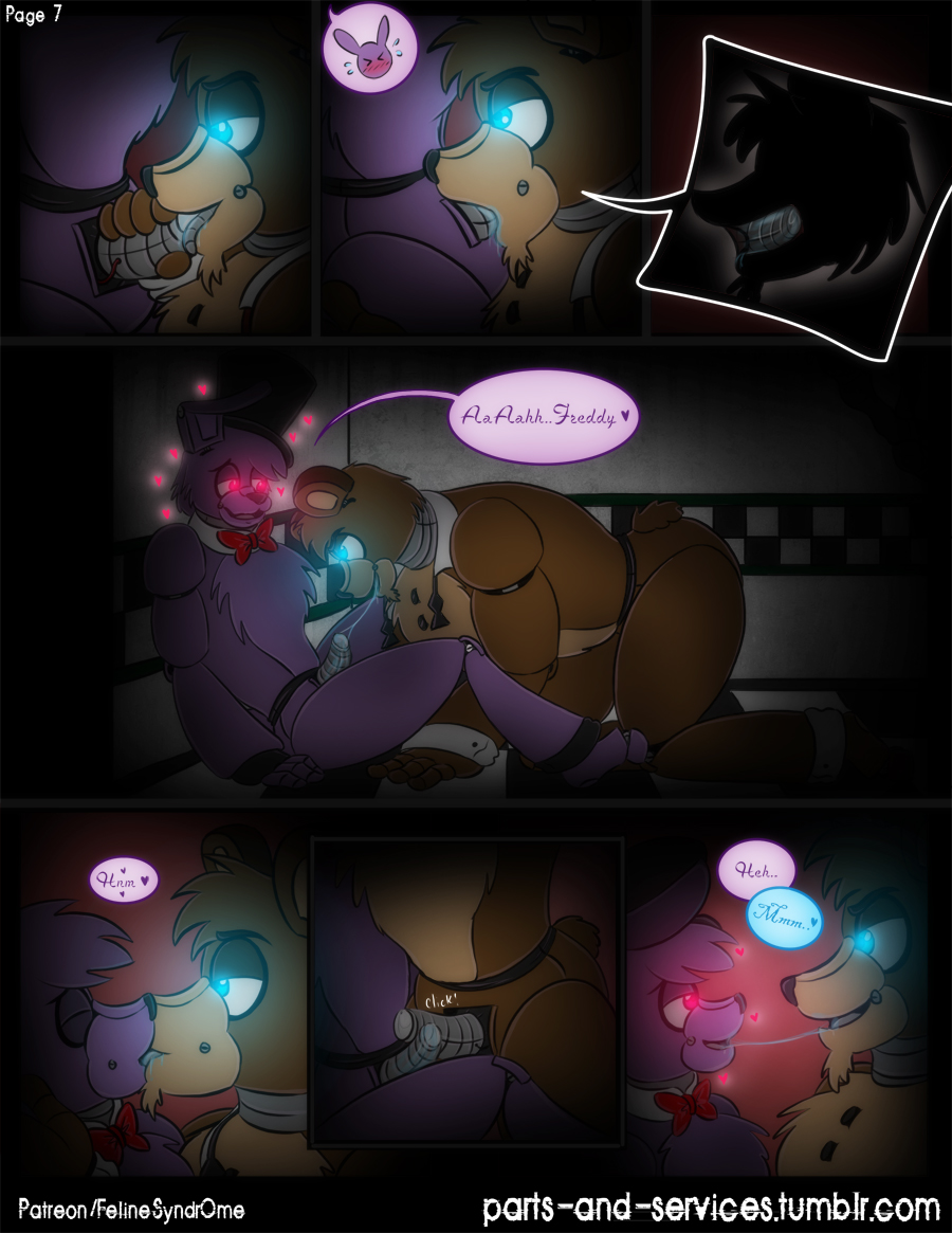 nights five at freddy's bonnie Avatar the last airbender palcomix