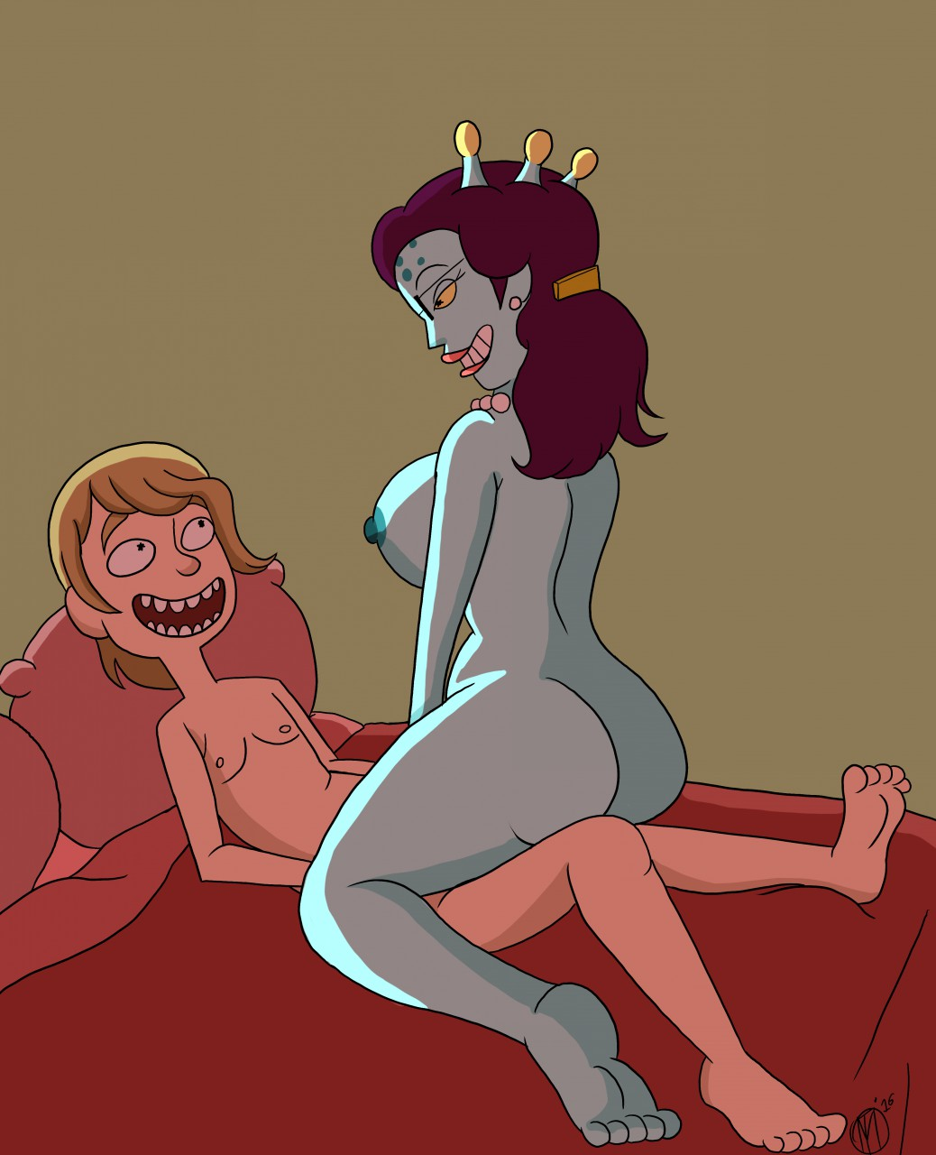 dragon and morty stripper rick Ascendance of a bookworm