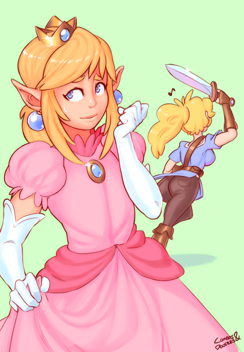 porn princess rosalina peach and Cookie cat from steven universe