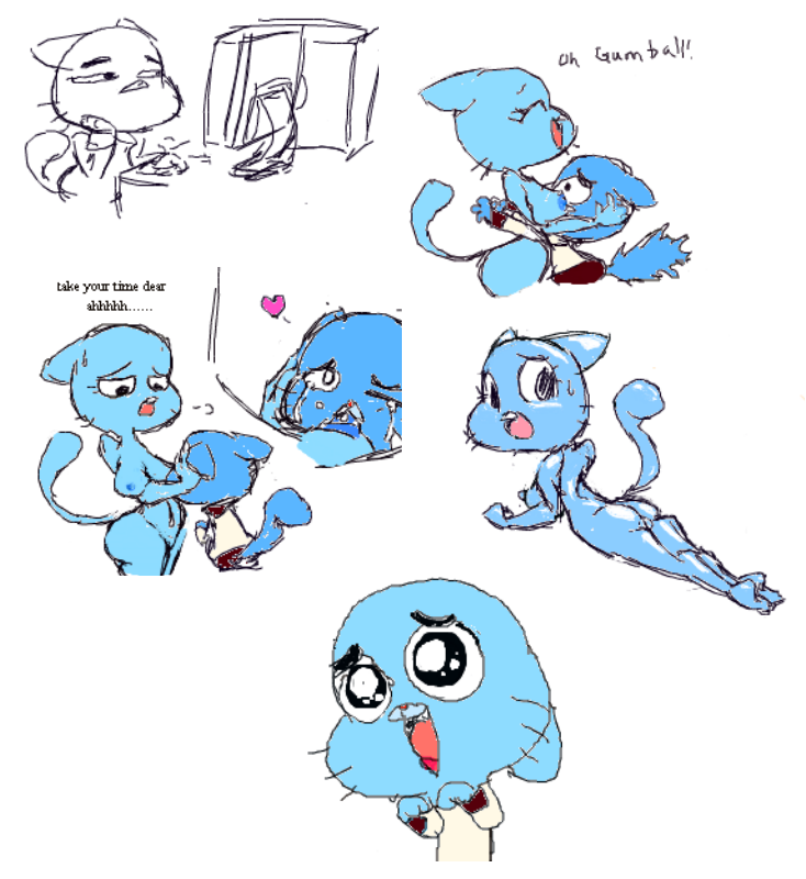 the gumball of world amazing leslie Ok ko lets be heroes porn