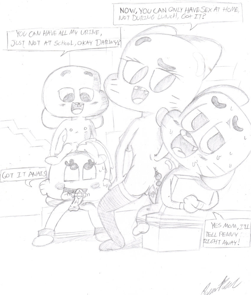 amazing world of gumball tina Trials in tainted space brandy